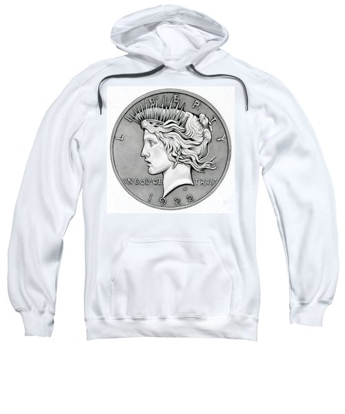 Graphite Peace Dollar Sweatshirt