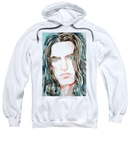 Peter Steele Watercolor Portrait Sweatshirt