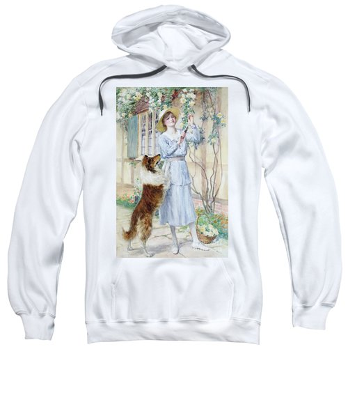 Picking Roses Sweatshirt