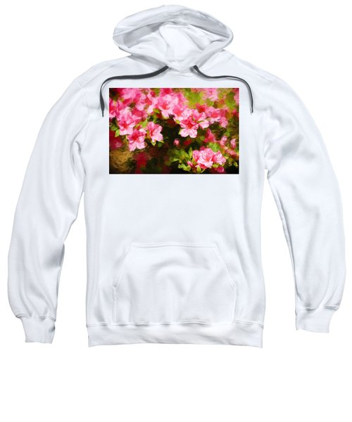 Pink Azealas Sweatshirt