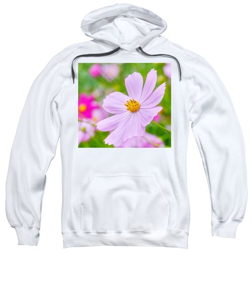 Pink Flower  Sweatshirt