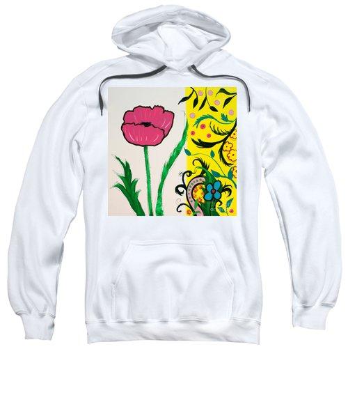 Pink Poppy And Designs Sweatshirt