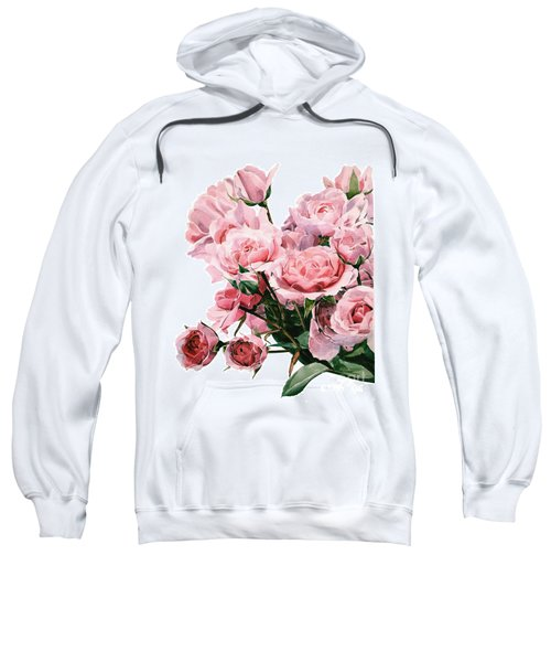 Pink Rose Bouquet Sweatshirt