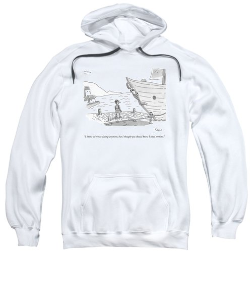 Pinocchio Addresses The Wooden Mermaid Sweatshirt