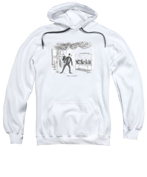 Places, Everybody! Sweatshirt