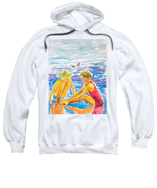 Playing On The Beach Sweatshirt