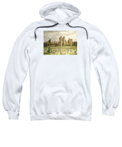 Plein Air Painting At Cowdray House Sussex Sweatshirt