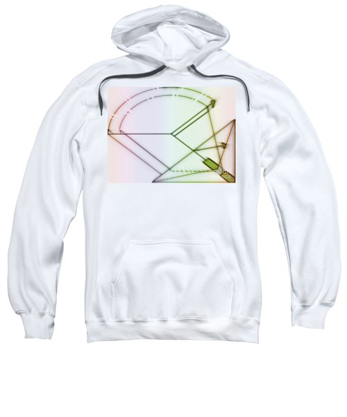 Point-out Projection Sweatshirt