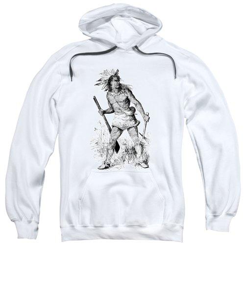 Pontiac, Odawa War Chief Sweatshirt