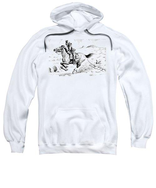 Pony Express Rider Sweatshirt