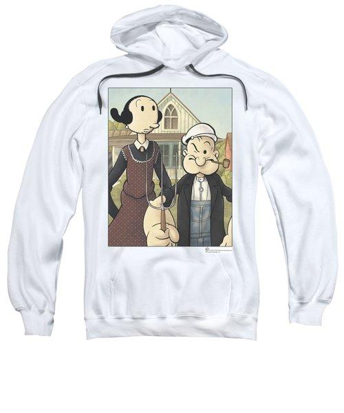Popeye - Popeye Gothic Sweatshirt