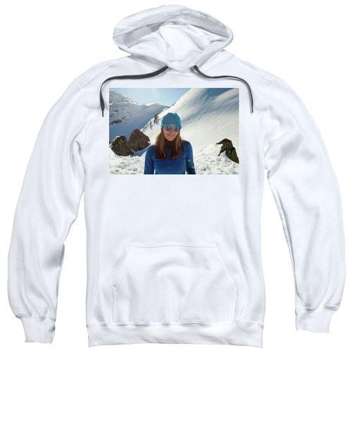 Portrait Of A Fit, Active Woman Wearing Sweatshirt