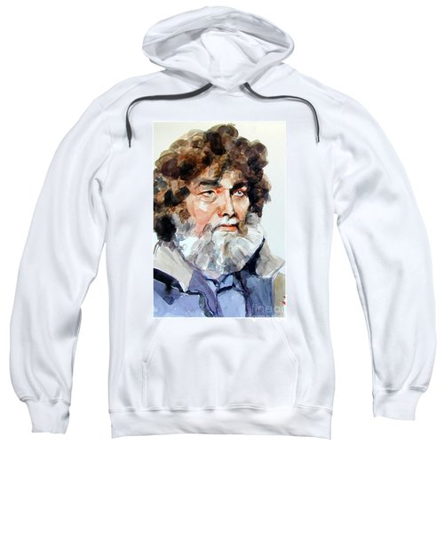 Watercolor Portrait Of A Sailor Sweatshirt