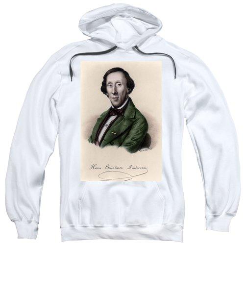 Portrait Of Hans Christian Andersen Sweatshirt