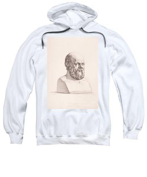 Portrait Of Socrates Sweatshirt