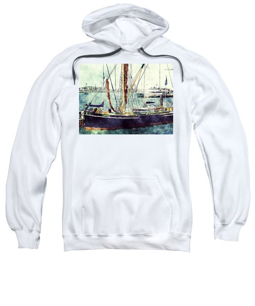 Portsmouth Harbour Boats Sweatshirt