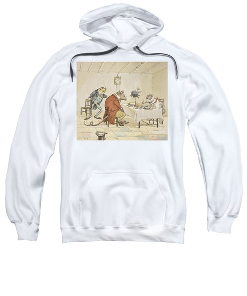 Pray Miss Mouse Will You Give Us Some Beer Sweatshirt