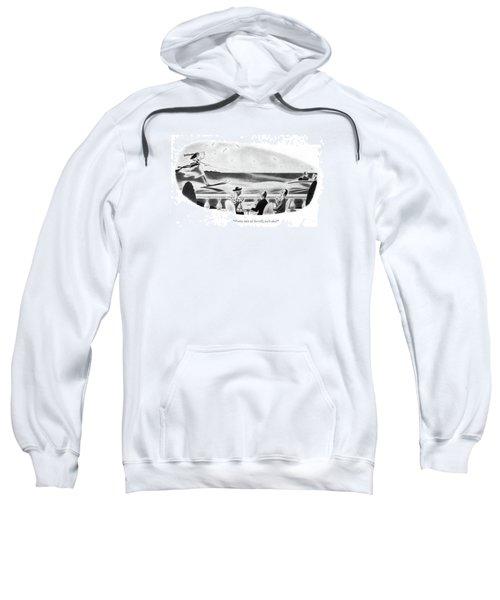 Pretty Sure Of Herself Sweatshirt