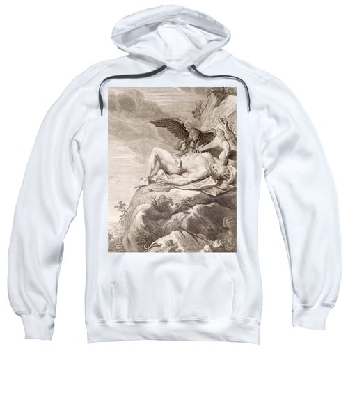 Prometheus Tortured By A Vulture Sweatshirt
