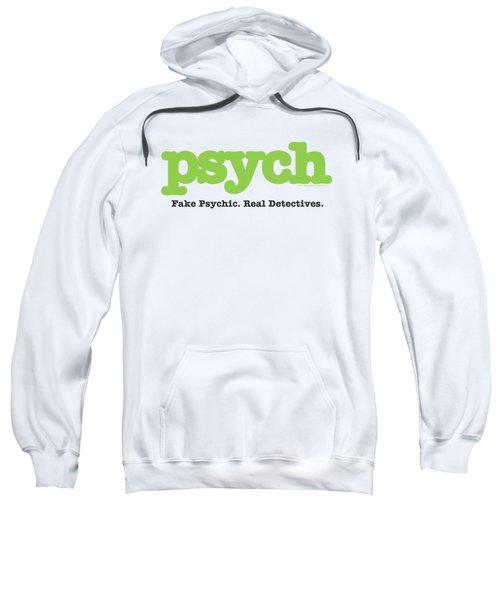 Psych - Title Sweatshirt