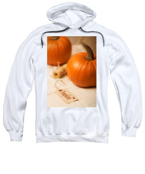 Pumpkin Label Sweatshirt