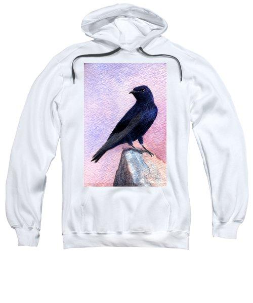 Purple Martin Sweatshirt