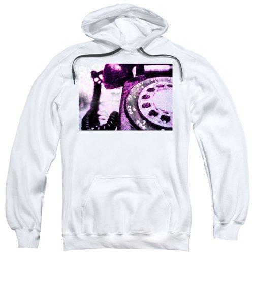 Purple Rotary Phone Sweatshirt