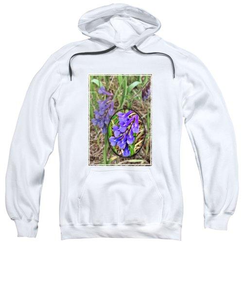 Purple Wildflowers Sweatshirt