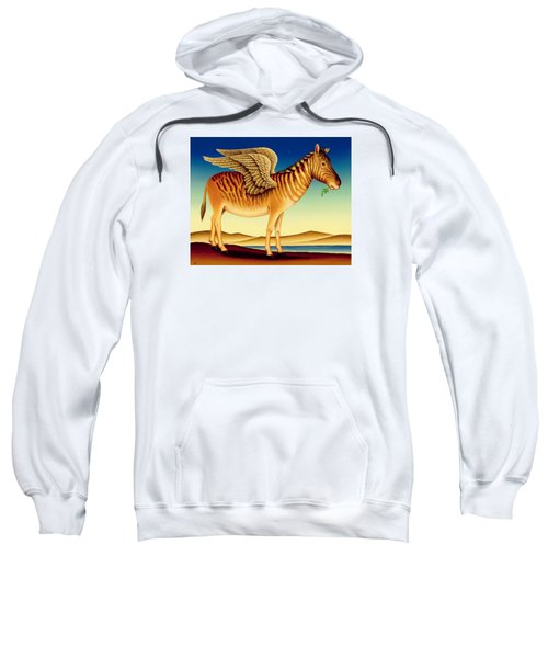Quagga Sweatshirt by Frances Broomfield