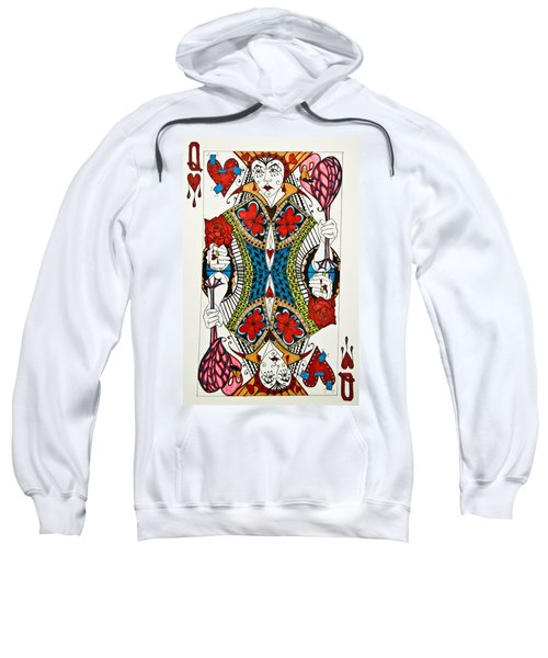 Queen Of Hearts - Wip Sweatshirt