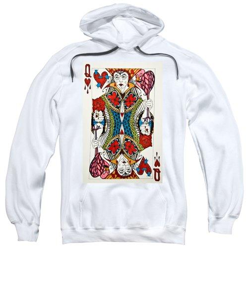 Queen Of Hearts - Wip Sweatshirt