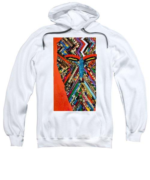 Quilted Warrior Sweatshirt
