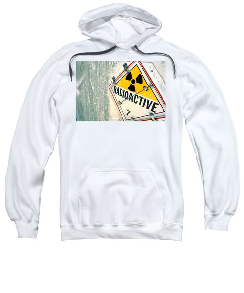 Radioactive Warning Sign Sweatshirt