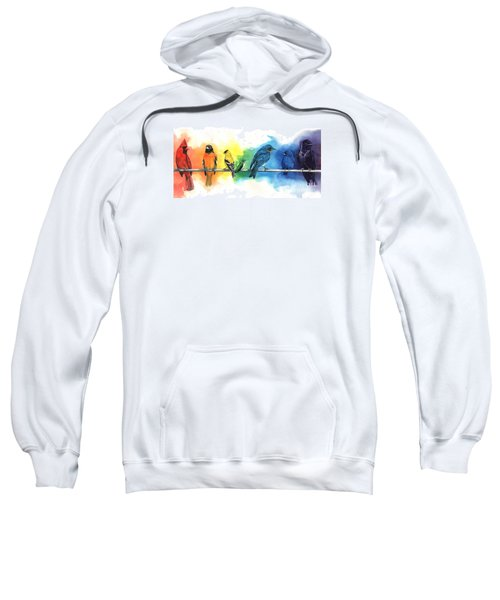 Rainbow Birds Sweatshirt