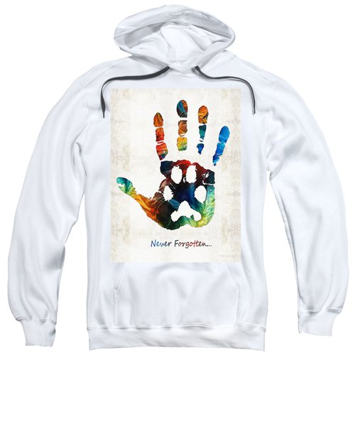 Rainbow Bridge Art - Never Forgotten - By Sharon Cummings Sweatshirt