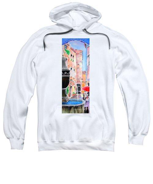 Raining In St-paul De Vence Sweatshirt