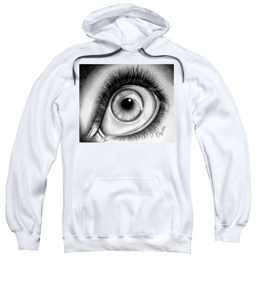 Realistic Eye Sweatshirt