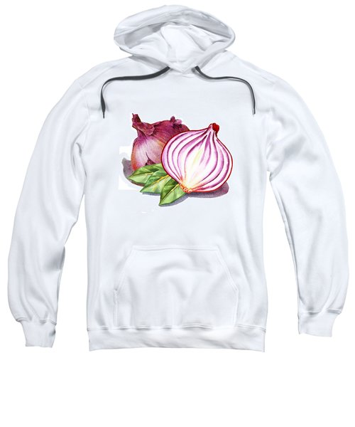 Red Onion And Bay Leaves Sweatshirt
