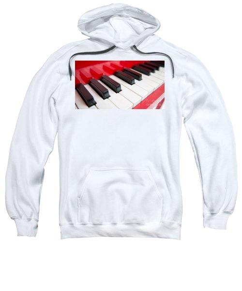 Red Piano Sweatshirt