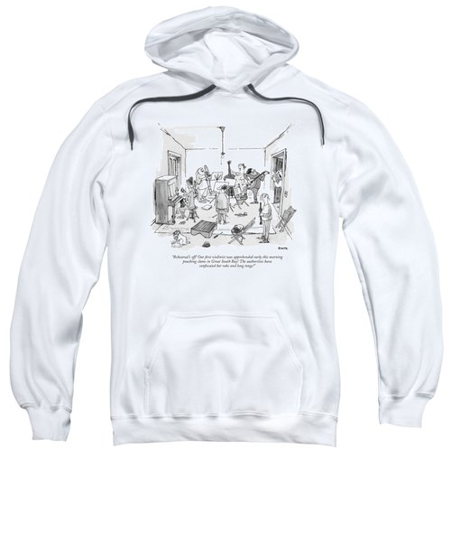 Rehearsal's Off! Our ?rst Violinist Sweatshirt