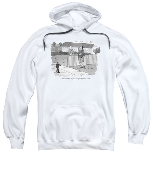 Remember How Big And Clunky The First Ones Were? Sweatshirt