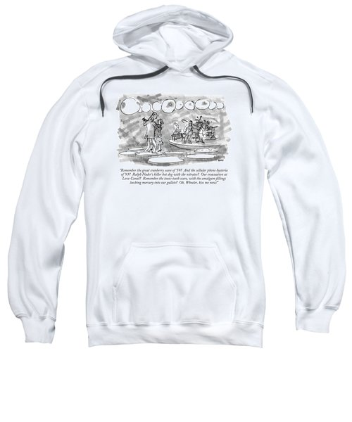 Remember The Great Cranberry Scare Of '59? Sweatshirt
