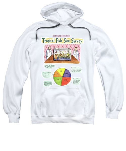 Results Of The Tropical Fish Sex Survey 17% Sweatshirt