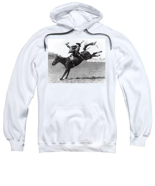 Riding A Bucking Bronco Sweatshirt
