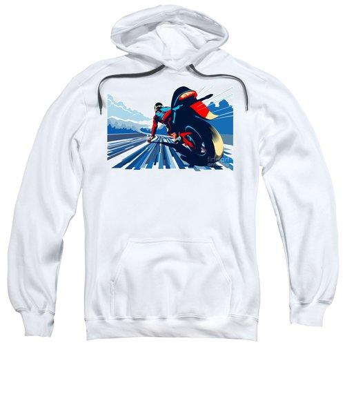 Riding On The Edge Sweatshirt