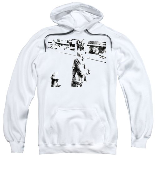 Rihanna Hanging Out Sweatshirt by Brian Reaves