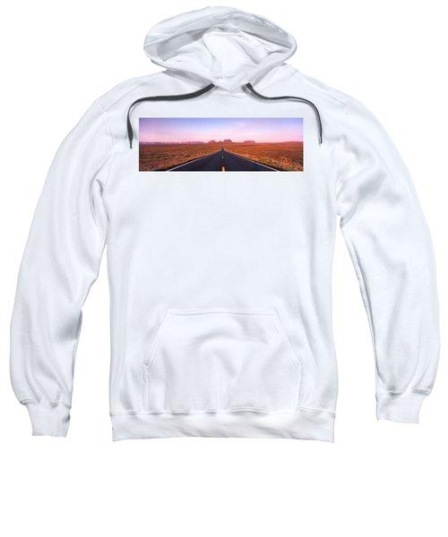 Road Monument Valley, Utah, Usa Sweatshirt
