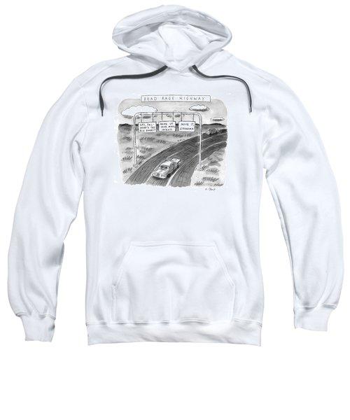 'road Rage Highway' Sweatshirt