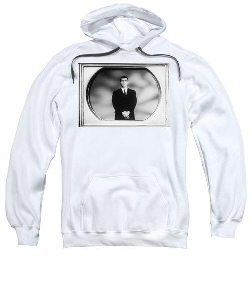Rod Serling On T V Sweatshirt