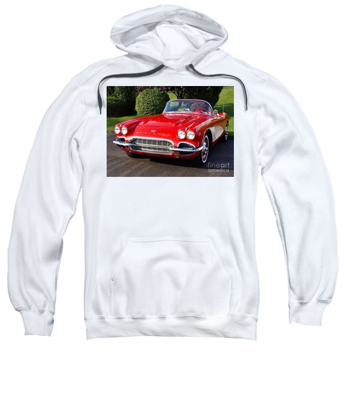 Route 66 - 1961 Corvette Sweatshirt